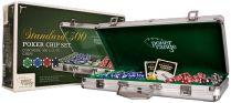 Покерный набор из 300 покерных фишек (11,5 г.) в алюминиевом кейсе. PR301