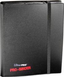 Альбом Ultra-Pro PRO-BINDER черный (с листами по 2 кармашка, для карт в протекторах)
