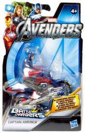 Мстители. Фигурка на транспортном средстве Captain America
