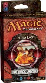 Magic. Core Set 2011: «Breath of Fire» Intro Pack