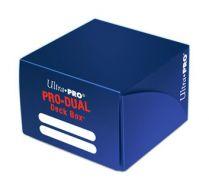 Коробочка Ultra-Pro PRO-DUAL на 180 карт: Синяя