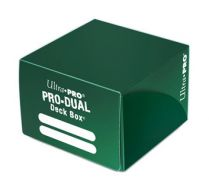 Коробочка Ultra-Pro PRO-DUAL на 180 карт: Зелёная