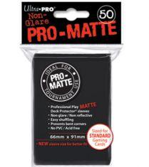 Протекторы Ultra-Pro PRO-MATTE (50шт., 66х91мм): Черные