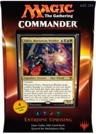 Magic. Commander 2016: Entropic Uprising