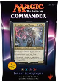 Magic. Commander 2016: Invent Superiority