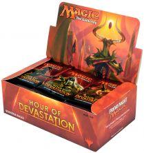 Magic. Hour of Devastation - дисплей бустеров на английском языке