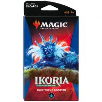 Magic. Ikoria: Lair of Behemoths Blue Theme Booster
