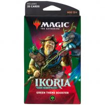 Magic. Ikoria: Lair of Behemoths Green Theme Booster