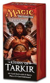 Magic. Khans of Tarkir - Conquering Hordes - Event Deck