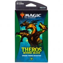 Magic. Theros Beyond Death Green Theme Booster