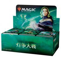 Magic. Война Искры - дисплей бустеров на японском языке