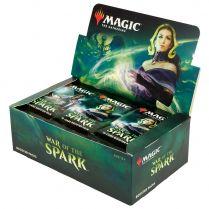 Magic. War of The Spark - дисплей бустеров на английском языке