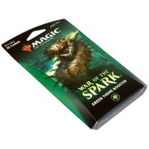 Magic. War of the Spark Green Theme Booster