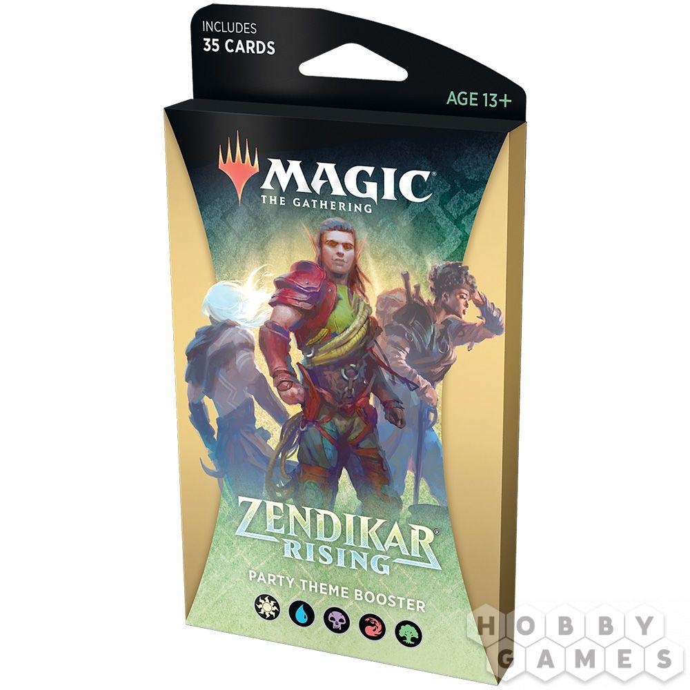 MTG. Zendikar Rising: Party - тематический бустер на английском языке | Купить настольную игру в магазинах Hobby Games
