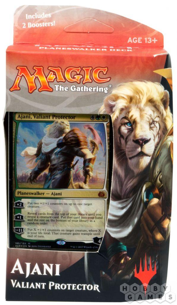 MTG. Aether Revolt: Ajani на английском языке | Купить настольную игру в магазинах Hobby Games