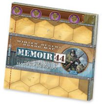 Memoir '44. Winter/Desert board map