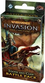 Warhammer. Invasion LCG: Tooth and Claw Battle Pack