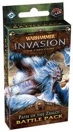 Warhammer. Invasion LCG: Path of the Zealot Battle Pack