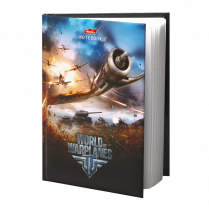 Бизнес-блокнот World of Warplanes формата A6, 80 л