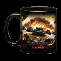 Керамическая кружка c кей-артом World of Tanks