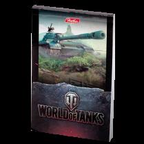 Блокноты World of Tanks формата A7, 48 л