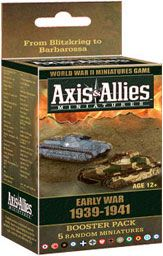 Axis&Allies Miniatures: Early War - бустер