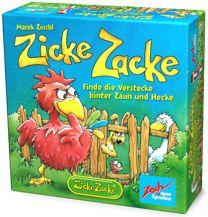 Цыплячьи бега (Zicke Zacke) - карточные