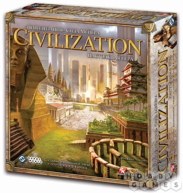 Настольная игра Цивилизация Сида Мейера. Третье издание