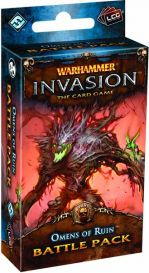 Warhammer. Invasion LCG: Omens of Ruin battle pack