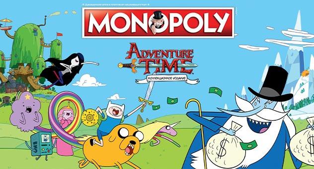 Коллекционная монополия Adventure Time