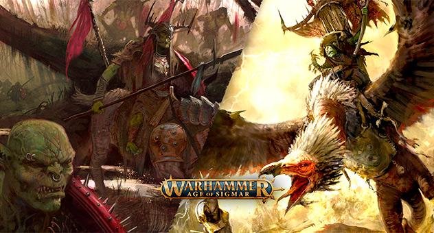 Великий шаман орруков летит в бой!